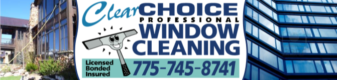 Window Cleaning in Reno Carson City Dayton Nevada